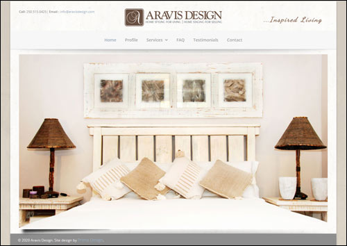 Aravis Design Interior Design, Salmon Arm, BC