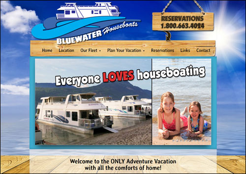 Bluewater Houseboats, Sicamous, BC