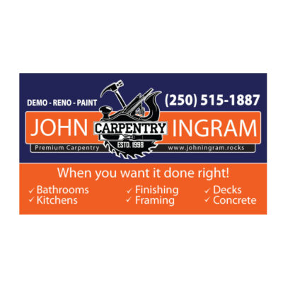 Plastics, Business Cards, Printing, Design, Vernon, BC