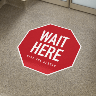 Covid Floor Graphics, Social Distancing Signs, Printing, Printer, Okanagan